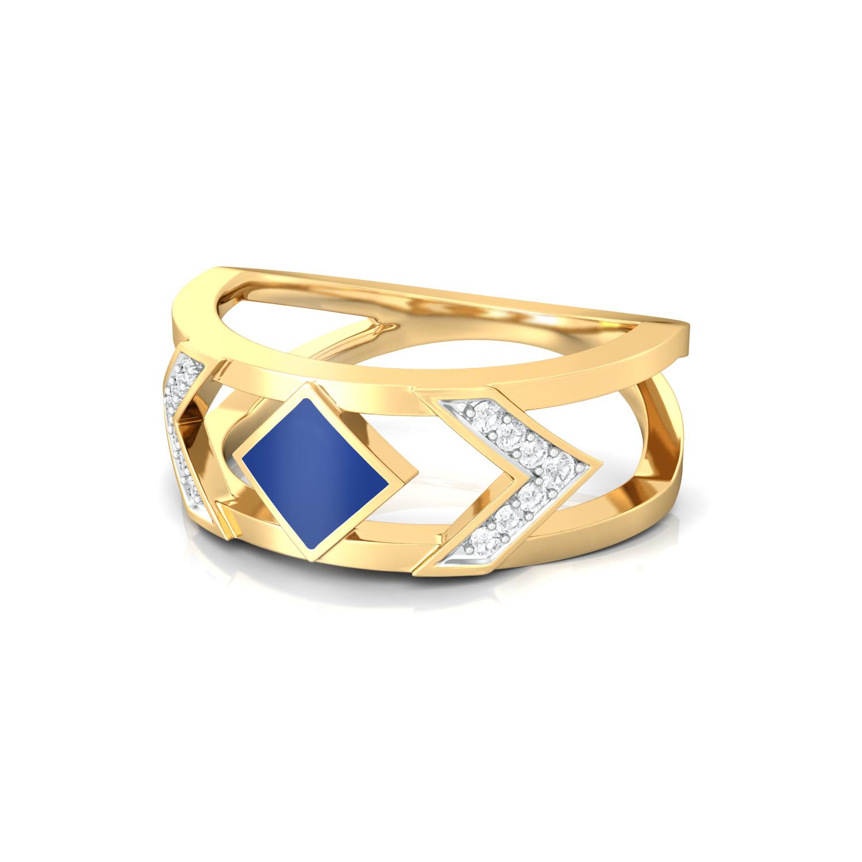 Indigo Star  Diamond Rings