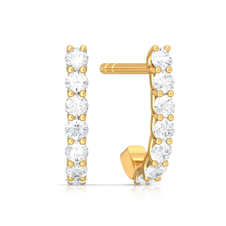 Everlasting Style Diamond Earrings