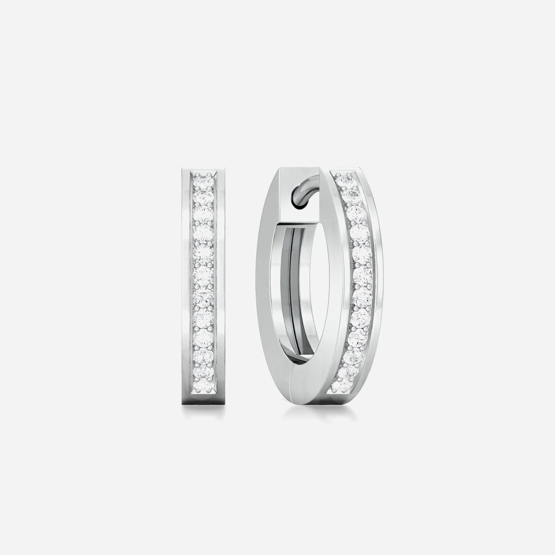Fine Line Diamond Earrings
