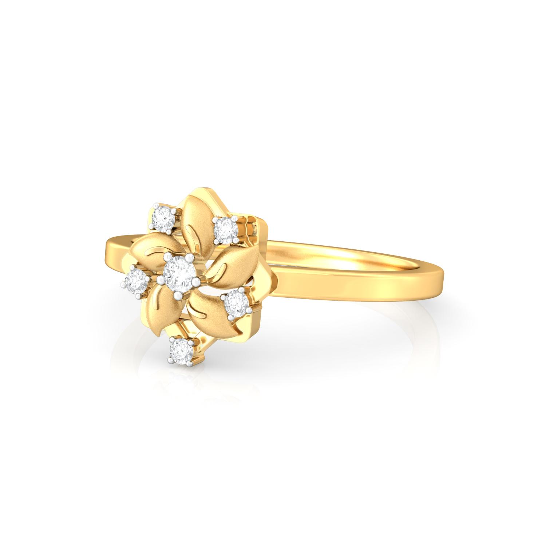 Funky Chakra Diamond Rings