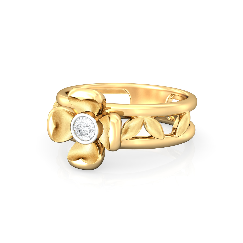 Ring o' Roses Diamond Rings