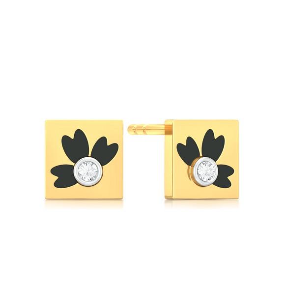Coloroma Diamond Earrings