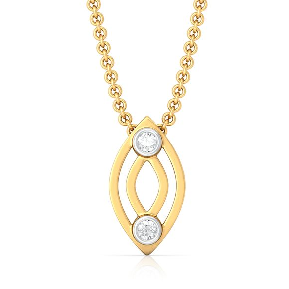 Petal to the Metal Diamond Pendants