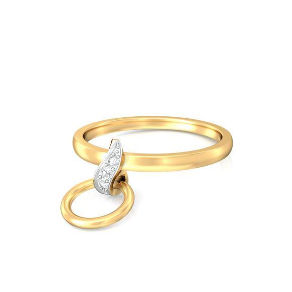 Twirly Whirls Diamond Rings