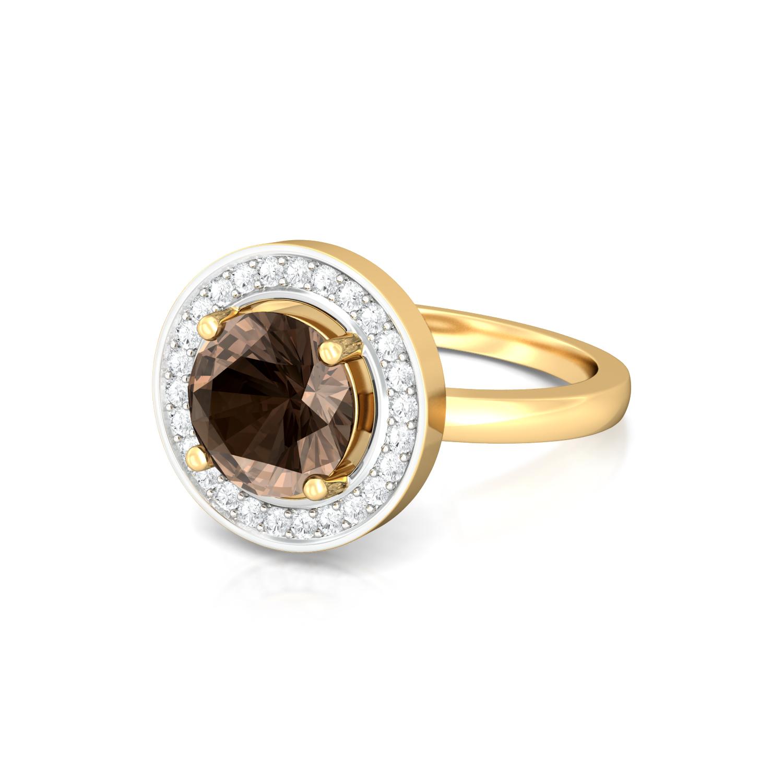 Chocolat Diamond Rings