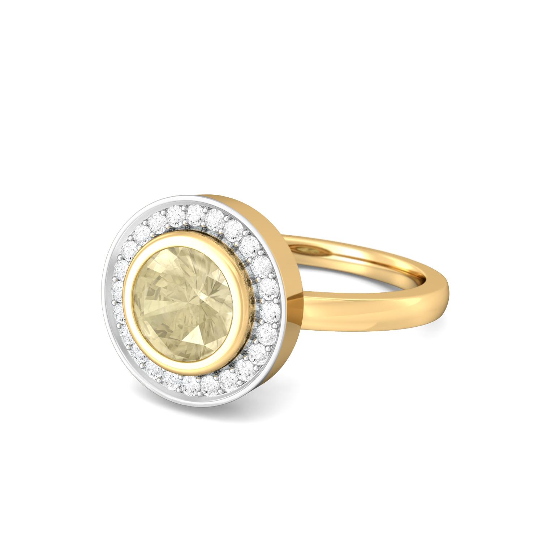 Lemon Drops Diamond Rings