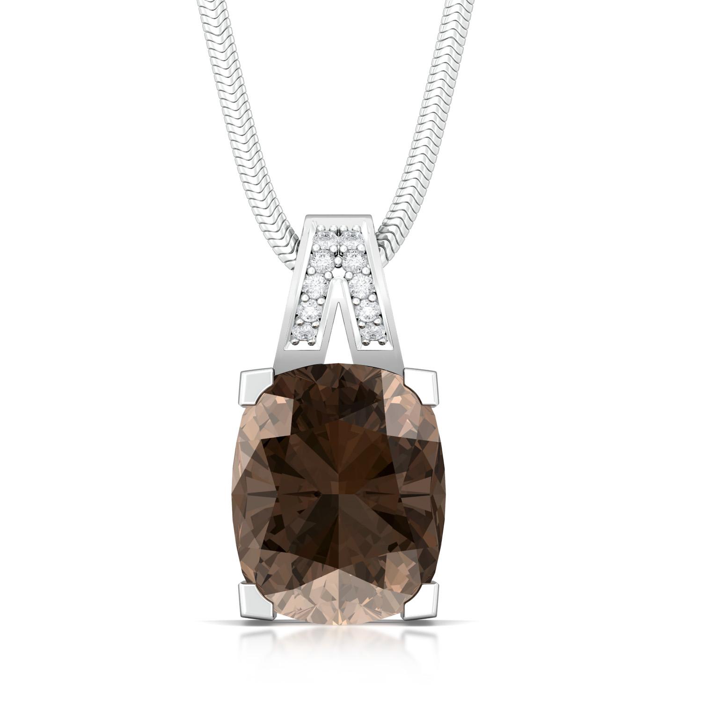 Earth Angel Diamond Pendants