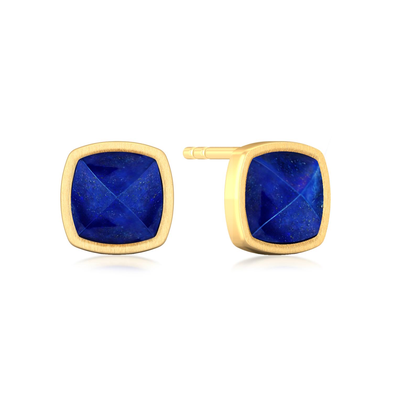 Midnight Blue Gemstone Earrings