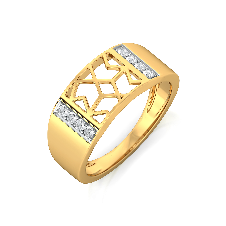 Lace Craze Diamond Rings