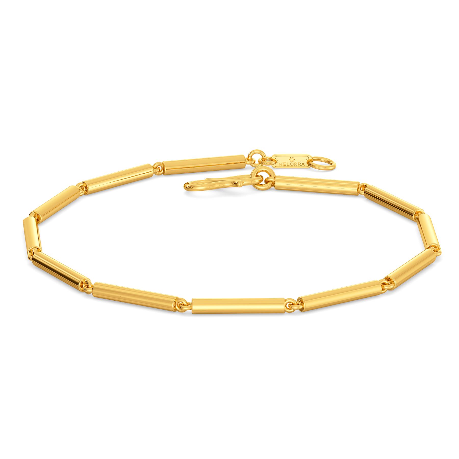Tube Play Gold Bracelets