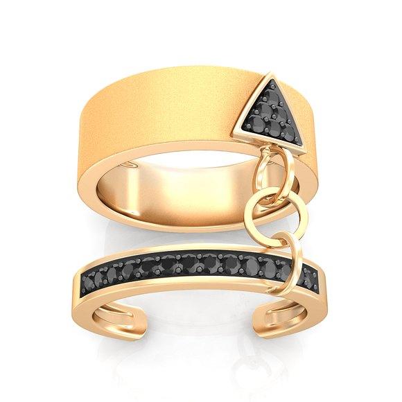 Fearless Diamond Rings