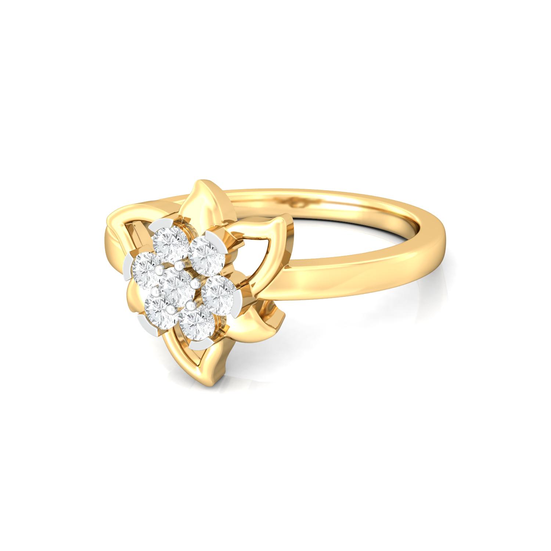 Star Belle Diamond Rings