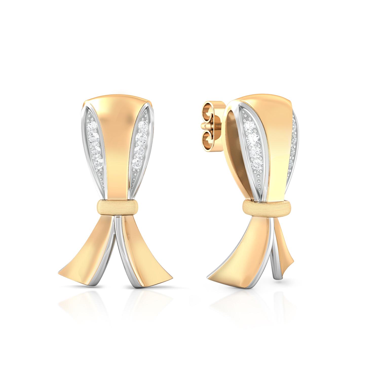Knotty Affair Diamond Earrings