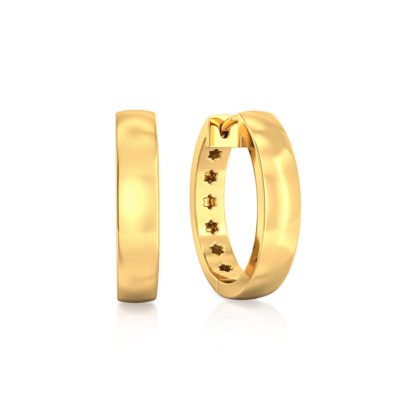 Gold forever Gold Earrings