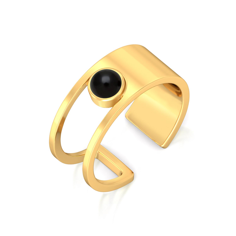 Hopping Dot Gemstone Rings