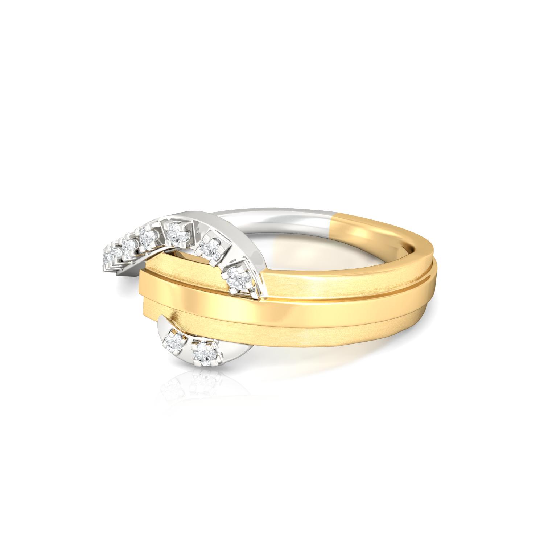 Pleat Me Pretty Diamond Rings