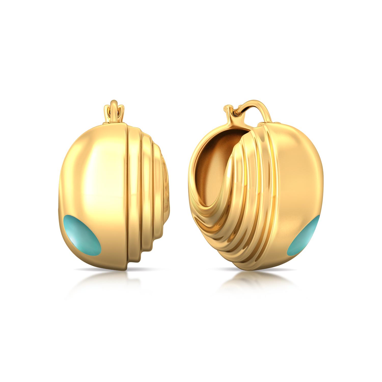 Skylight Gold Earrings