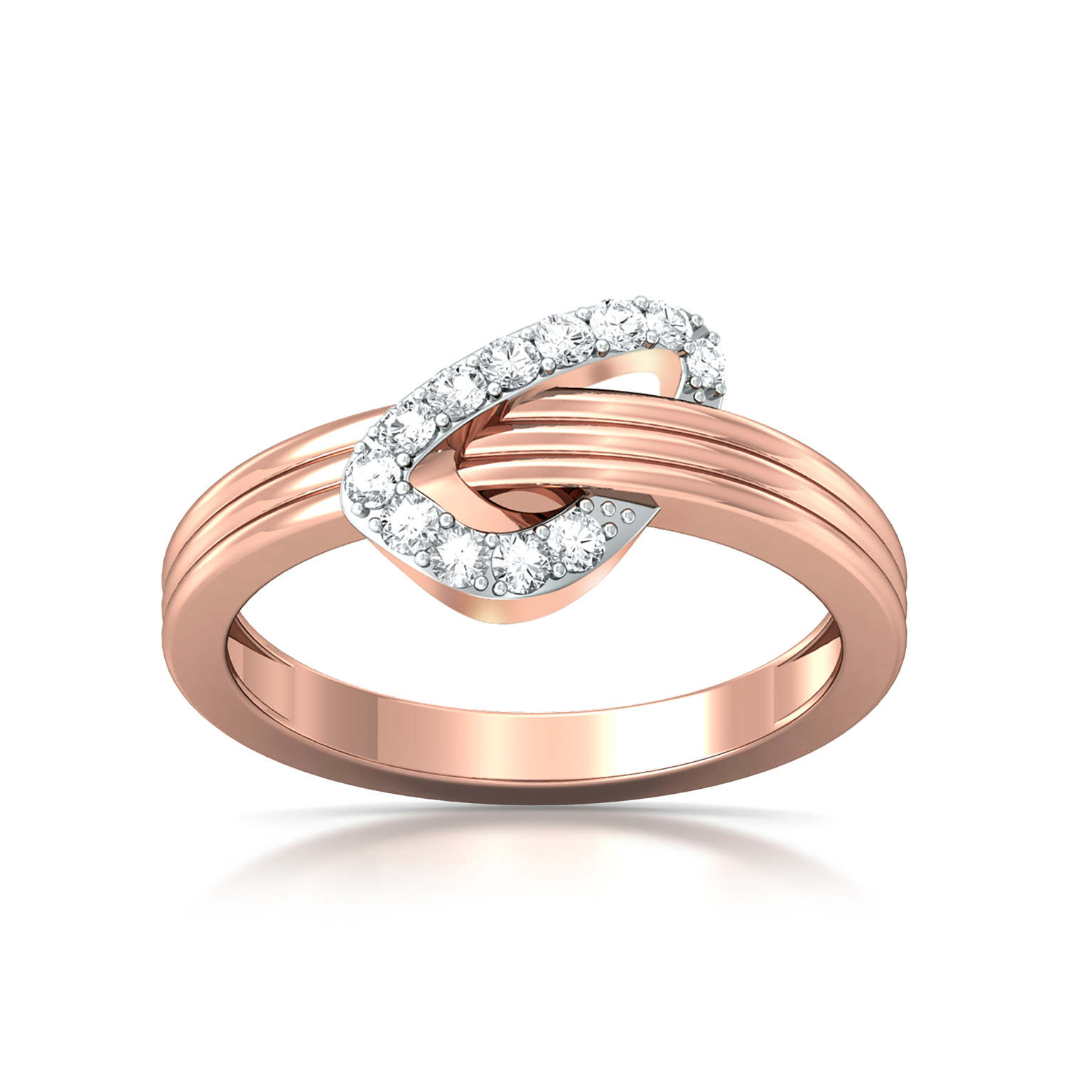 Tickled pink Diamond Rings