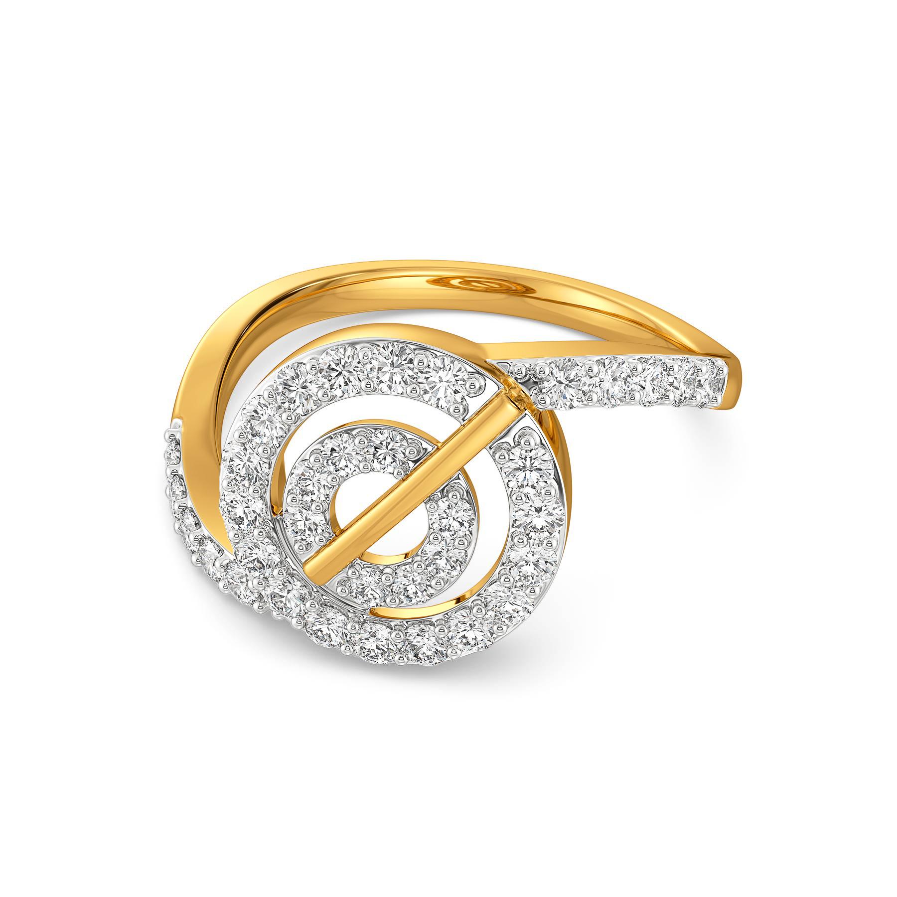 Hula Hoop Habit Diamond Rings