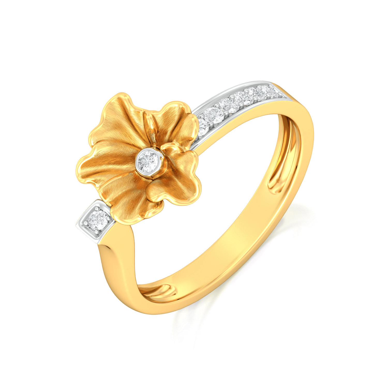 Petite Fleur Diamond Rings