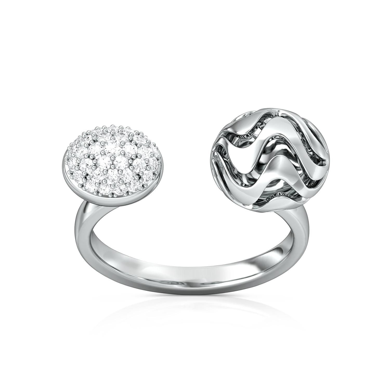 Popple Baubles Diamond Rings