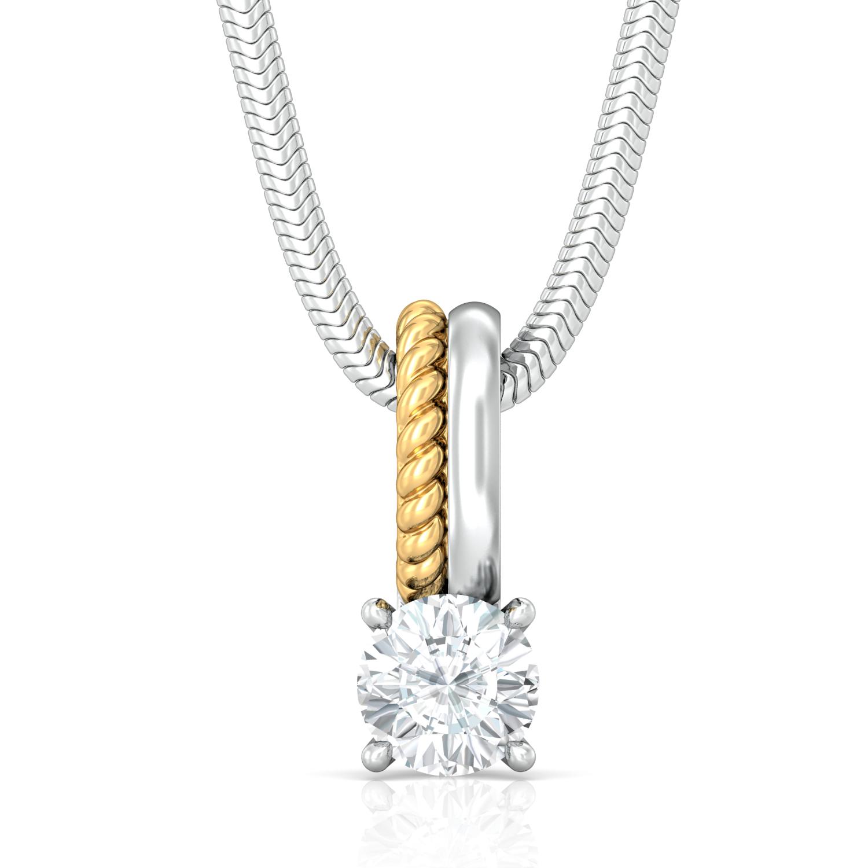 Solitaire Extraordinaire Diamond Pendants