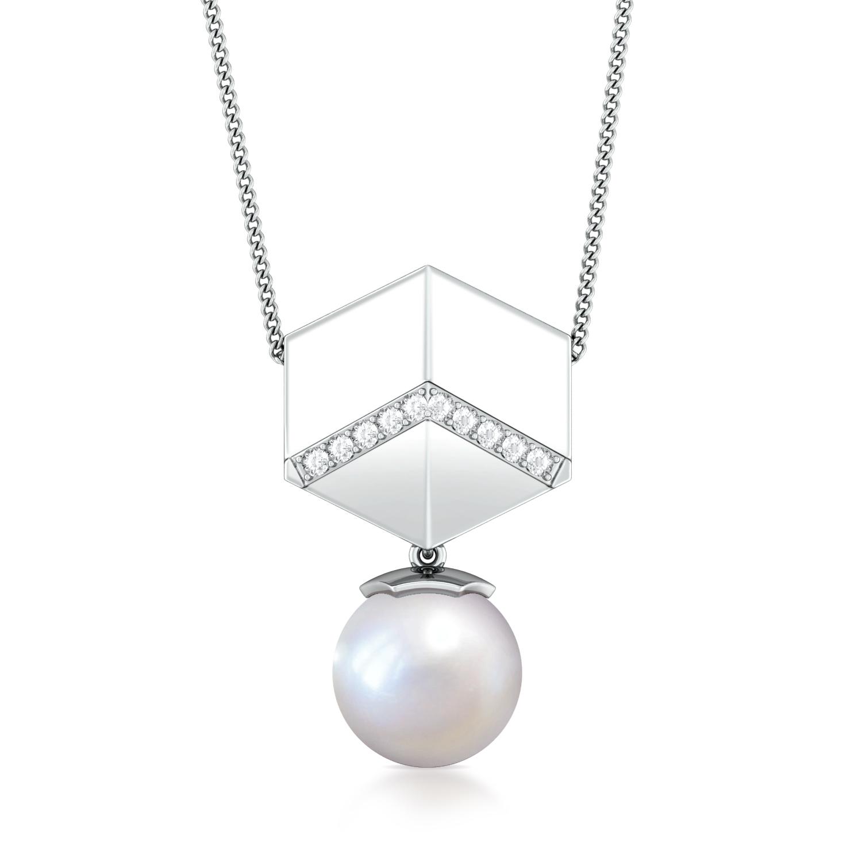 Hexa-go-round  Diamond Pendants