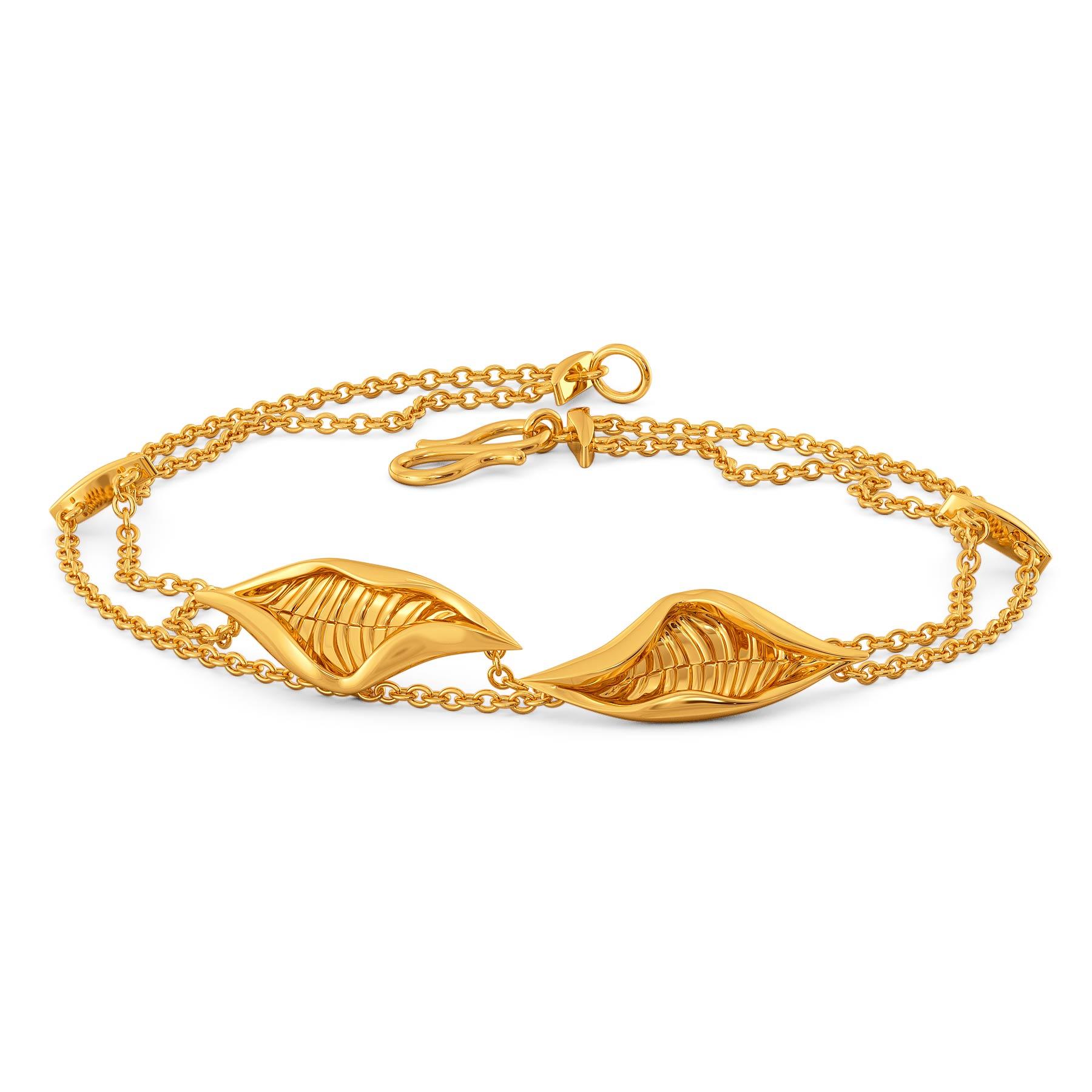 Lure of Verdure Gold Bracelets