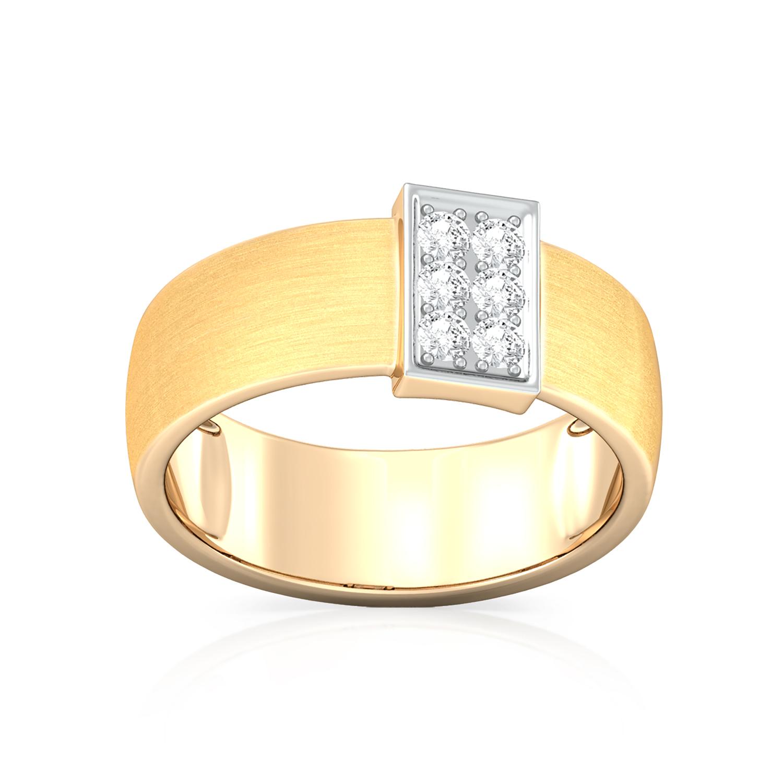 Brushed Galore Diamond Rings