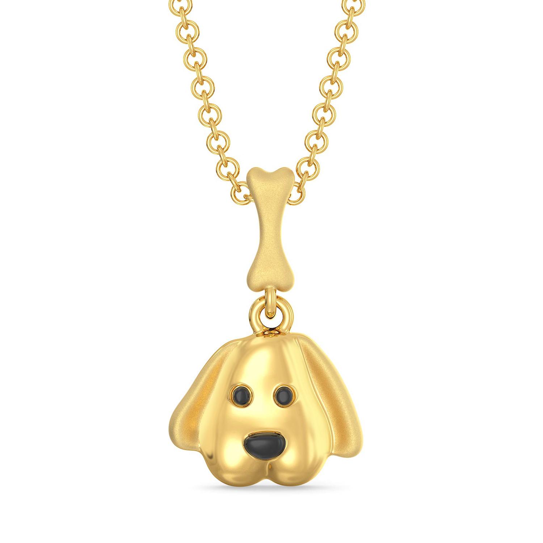 Bow Wow Gold Pendants