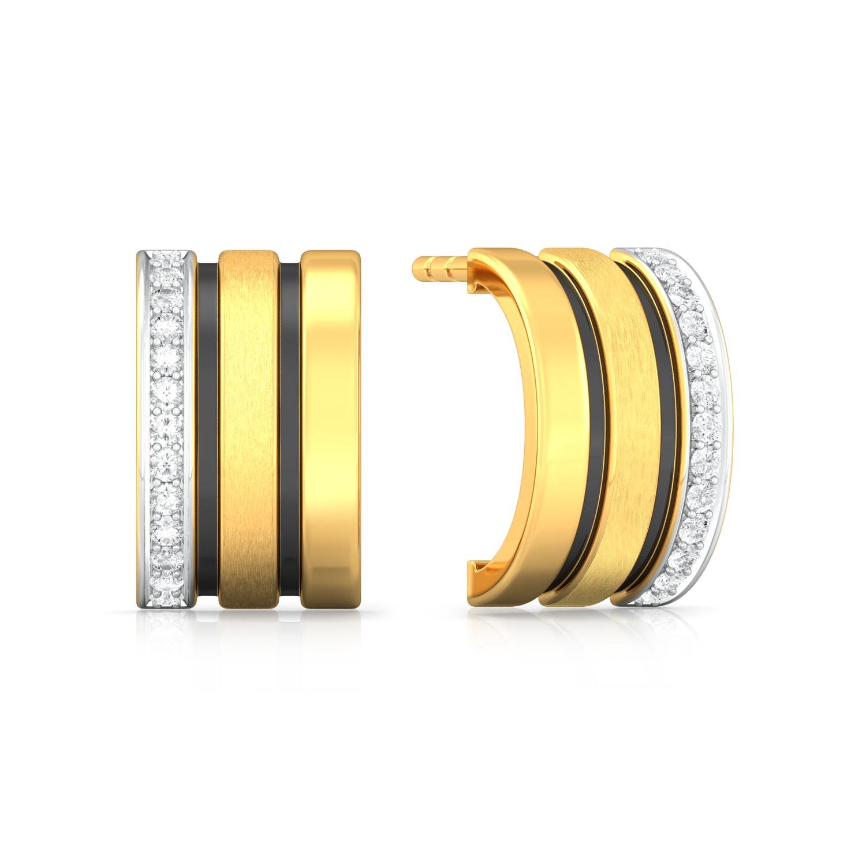 Blackjack Diamond Earrings