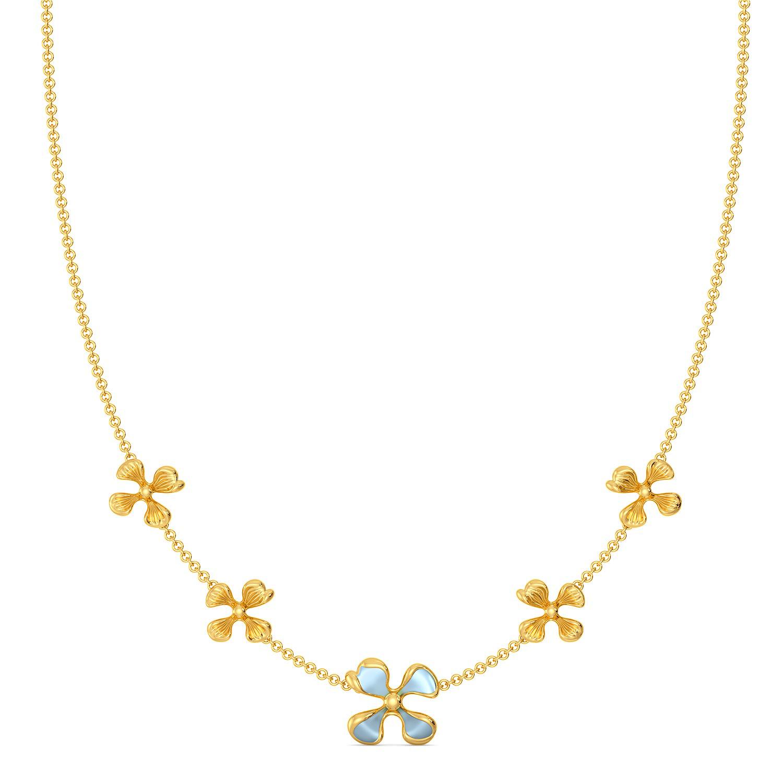 Flor Bonica Gold Necklaces
