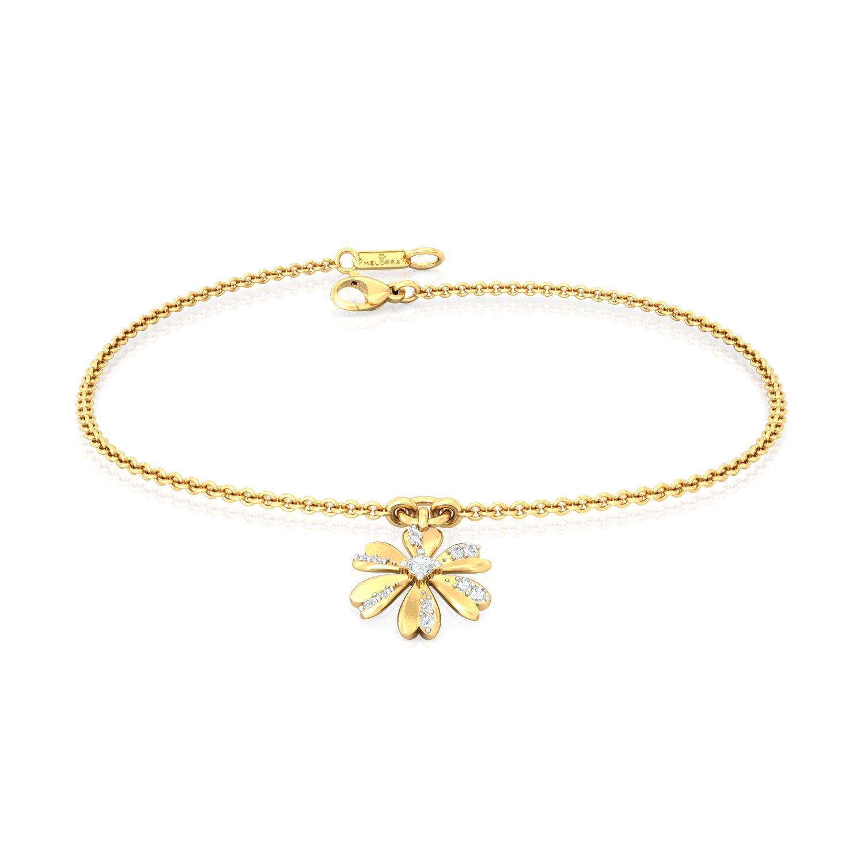 Peek-a-Bloom Diamond Bracelets
