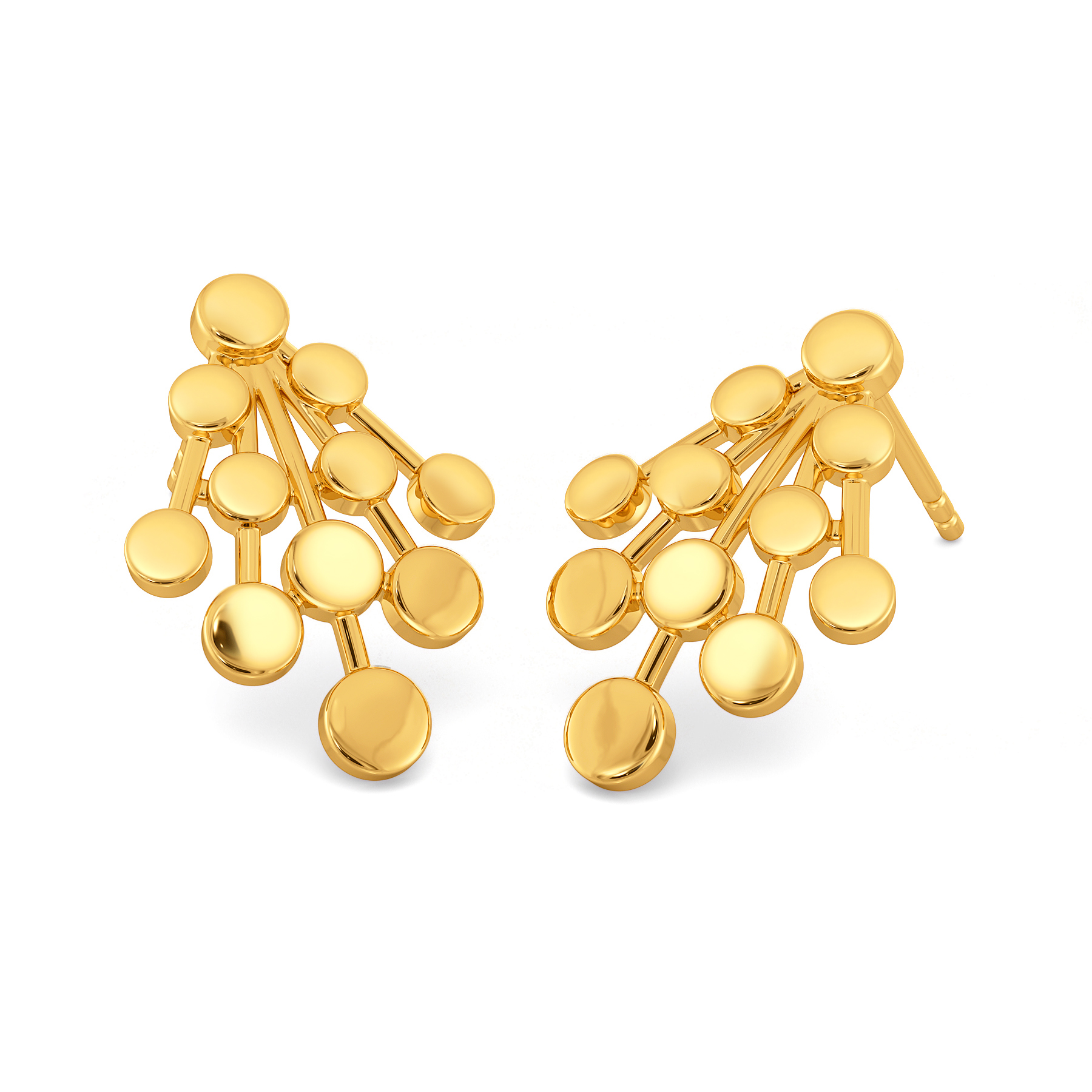 Allure of Gold Gold Earrings