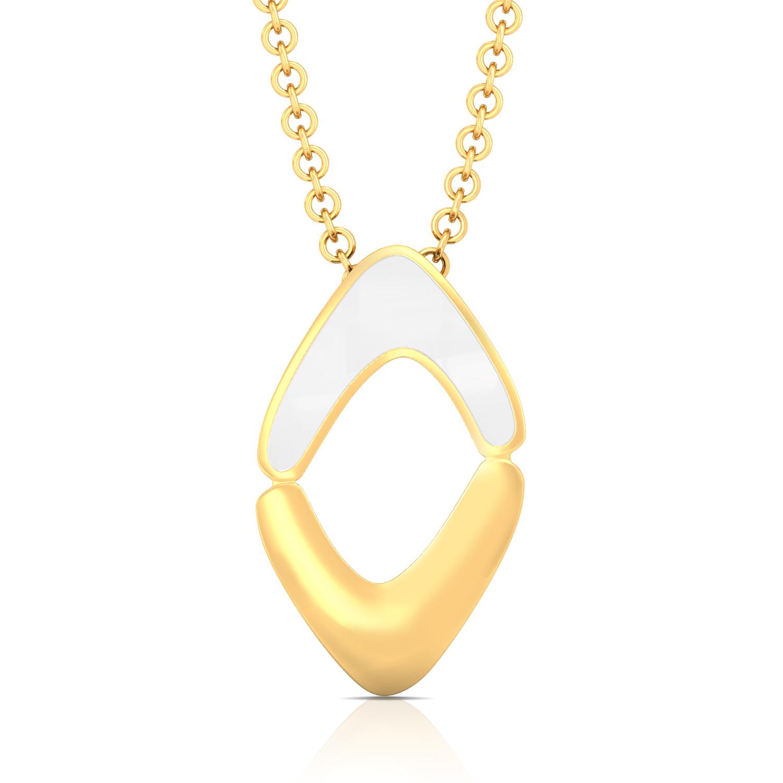 Modern Woman Gold Pendants