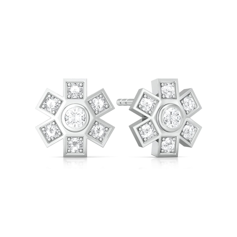 Snowdrops Diamond Earrings