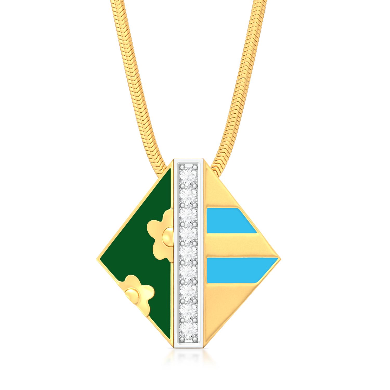 Harmony in chaos Diamond Pendants