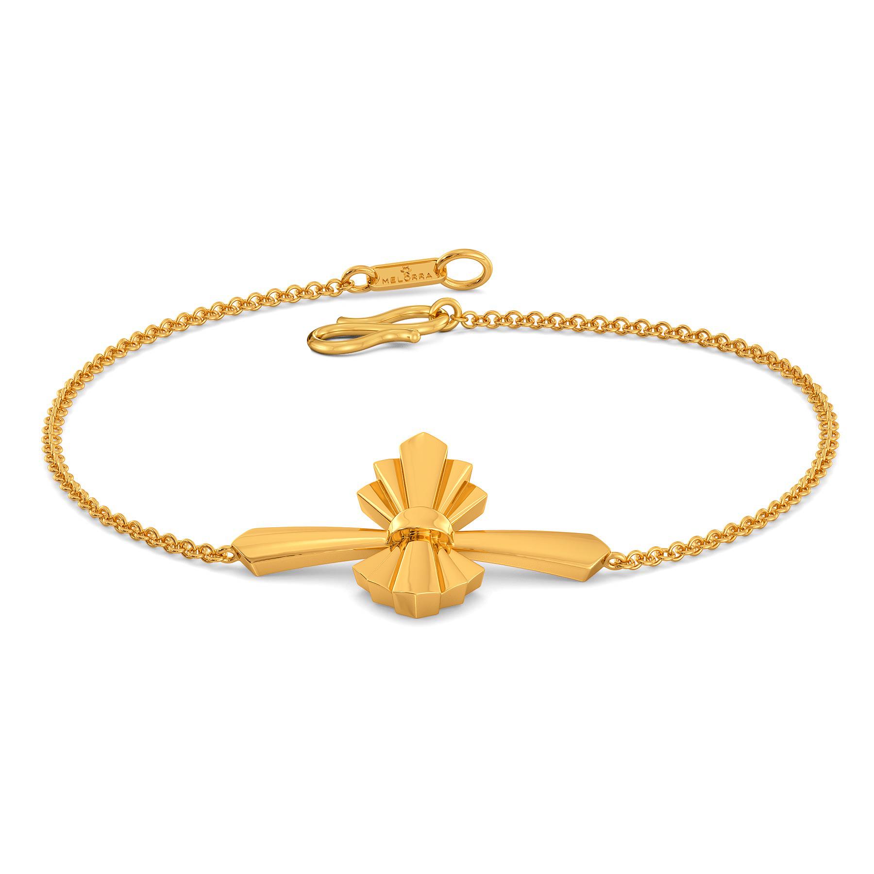 Knot A Bow Gold Bracelets