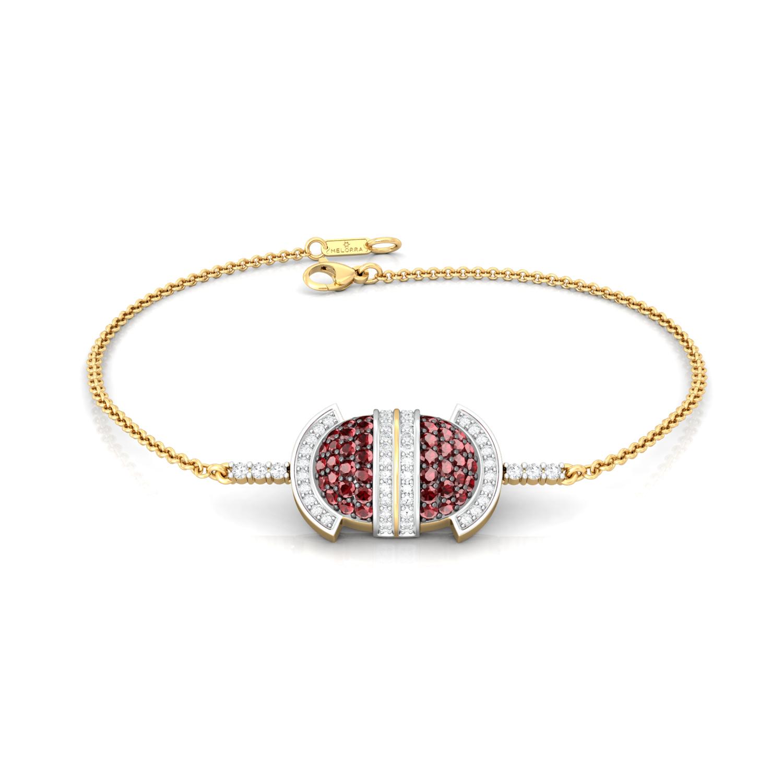 Strawberry Fields Diamond Bracelets