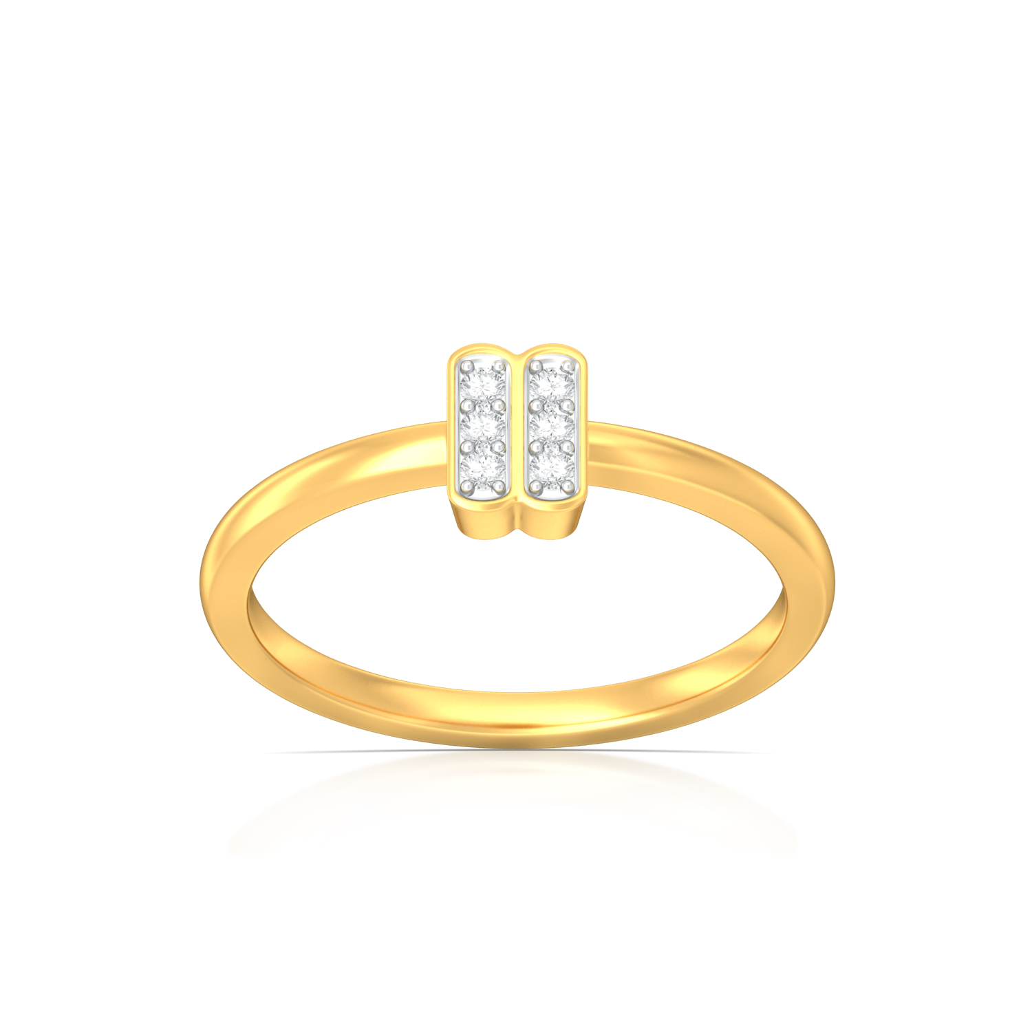 Spots and Stripes Diamond Rings