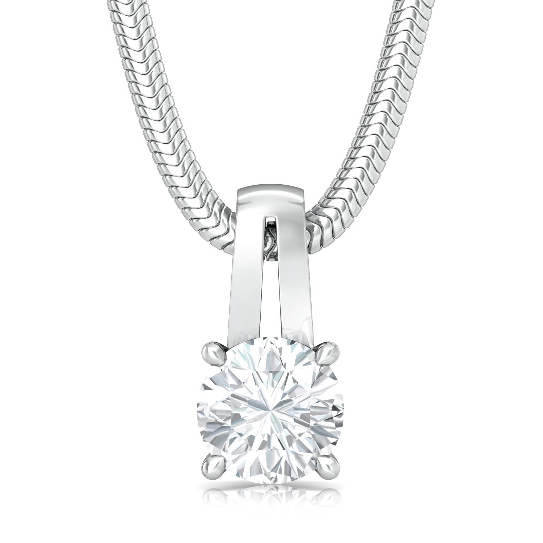 Sassy Solitaire Diamond Pendants