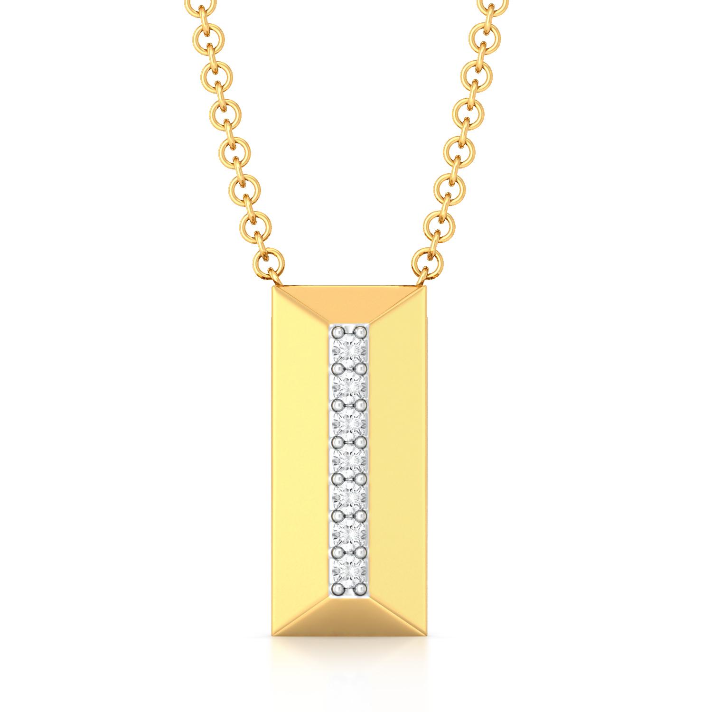 Raising the bar Diamond Pendants