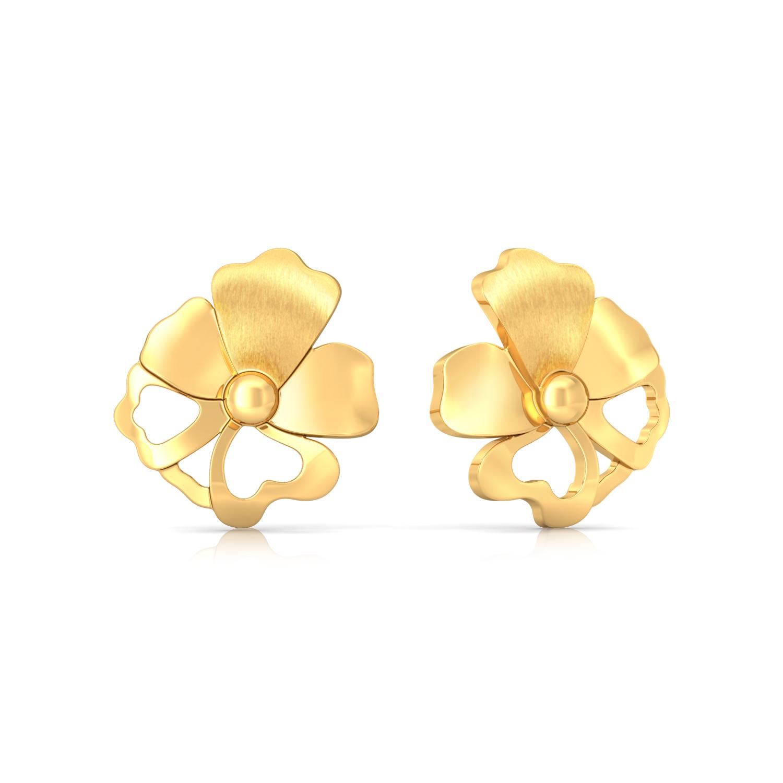 Taffeta Gold Earrings